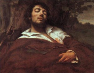 Courbet self-portrait