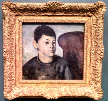 Cezanne Orangerie Portrait of his son