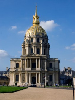 Dome Church exterior, Napoleon's tomb