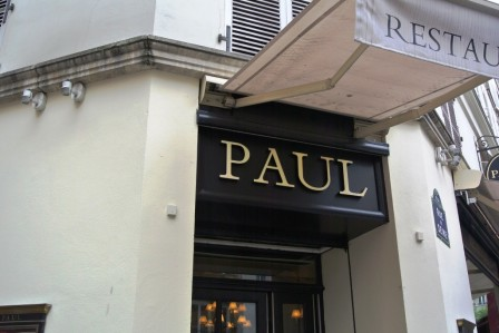 Paul's Patisserie is (unfortunately) not far from our apartment.
