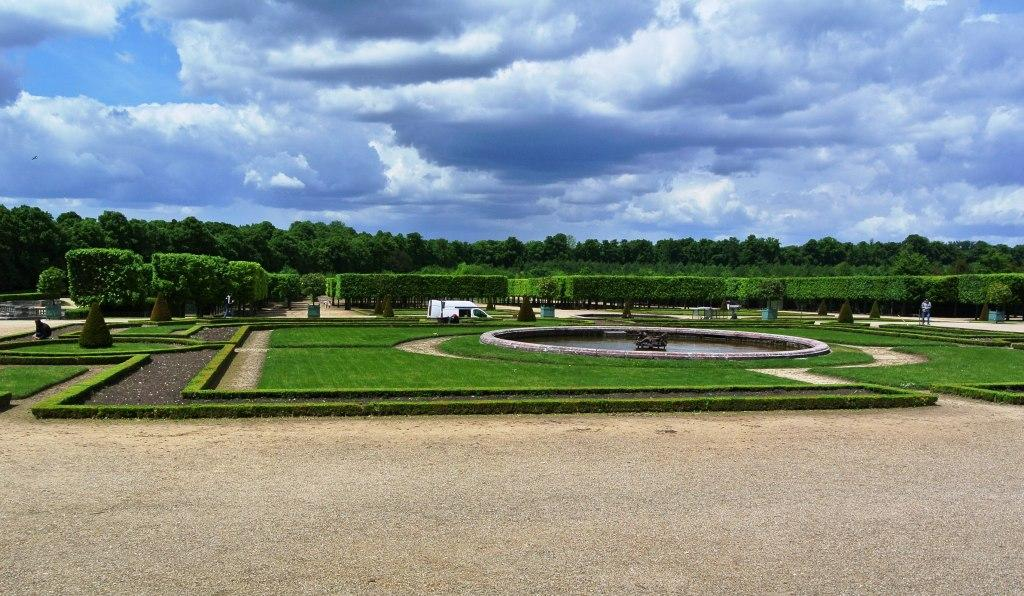 Grand Trianon, Formal Gardens, Versailles, Paris