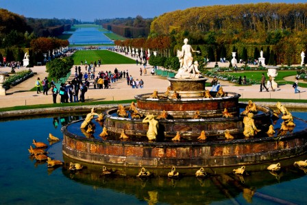 Versailles, Fountain of Latana