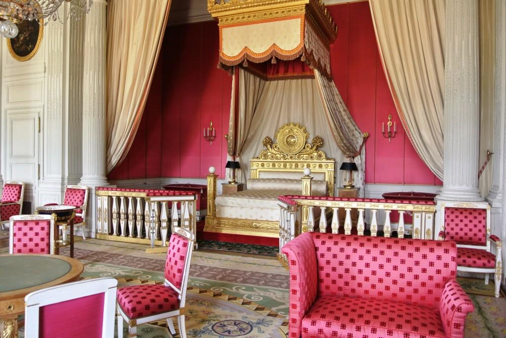 Grand Trianon, Royal Bedroom, Versailles, Paris
