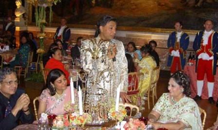 Mittal Wedding Feast, Versailles