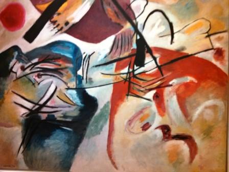 Pompidou, Kandinsky, Bogen
