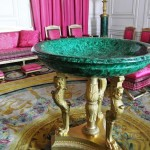 Malachite Salon, Grand Trianon, Versailles, Paris