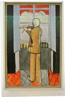 Pompidou Matisse le violinste