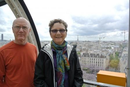Pompidou Museum Terrace
