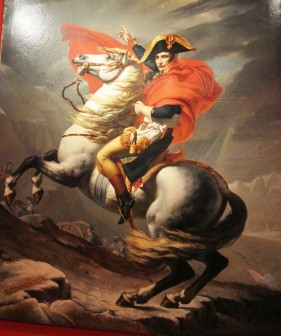 Napoleon, David, Crossing the  Alps