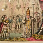 Napoleon coronation, Pope