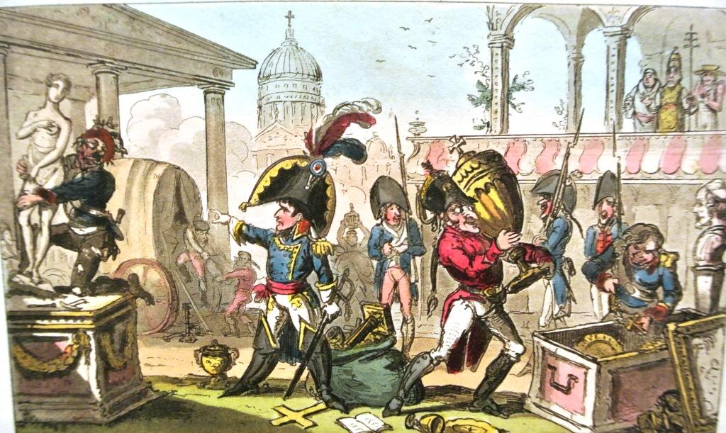 French seizures of Italian Art,