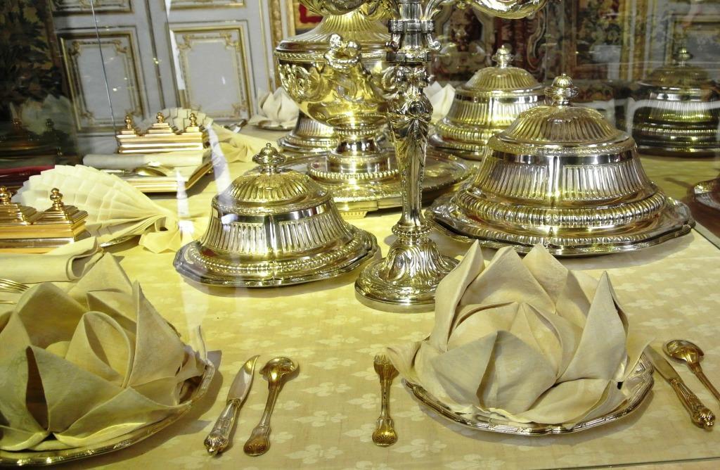 Versailles Chateau, Dining Service, Paris