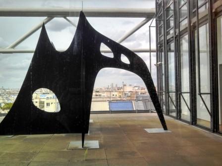 Pompidou sculpture