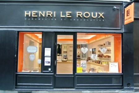 French Chocolate shop Henri Le Roux