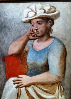 Picasso, Orangerie, Woman in a White Hat