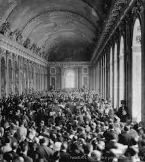 Treaty of Versailles 1919, Hall of Mirrors, World War I