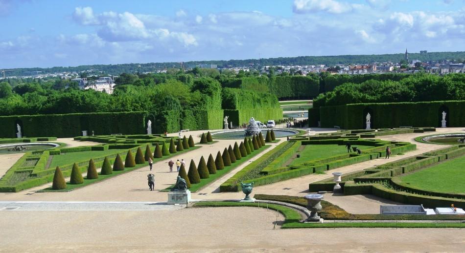 Versailles Chateau, Gardens, Paris