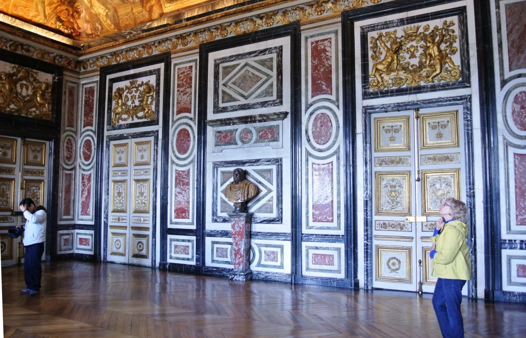 Versailles Chateau, Marble Wall Room,