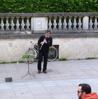 Musee d'Orsay jazz player