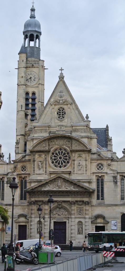 St Etienne du Mont, St Genevieve, Paris