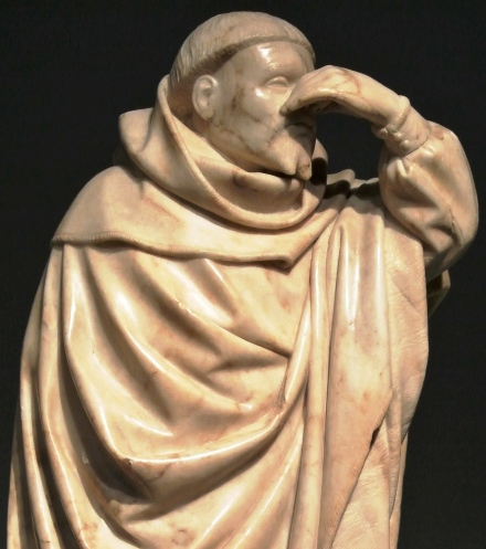 Mourner for John of Burgundy, Cluny Museum, Paris