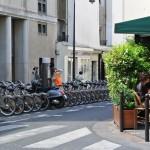 Neighborhood Bike Rental stand