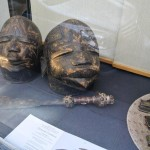 Many art galleries displayed tribal art