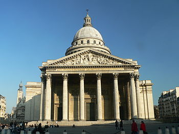 Pantheon exterior, Pantheon, Paris