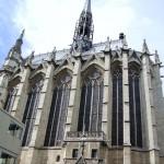 St. Chapelle, Louis IX, Gothic architecture, Pais