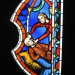 St Chapelle, Cluny, stained glass window, Paris