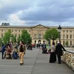 Pont des Artes, Louvre, Paris