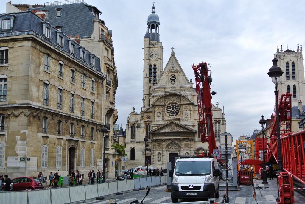 Eglise St- Etienne-du-Mont, St. Genevieve, Pantheon, Paris